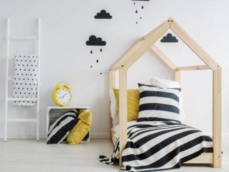 łóżka piętrowe do sypialni dziecięcej